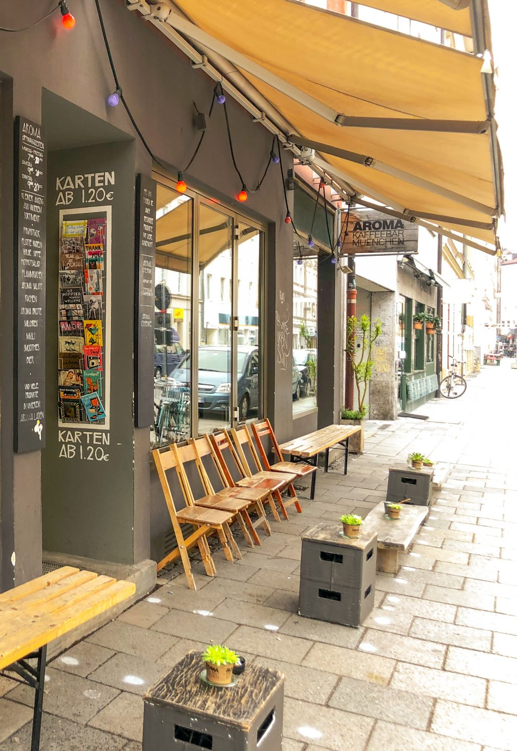 ミュンヘンのAroma Kaffee bar