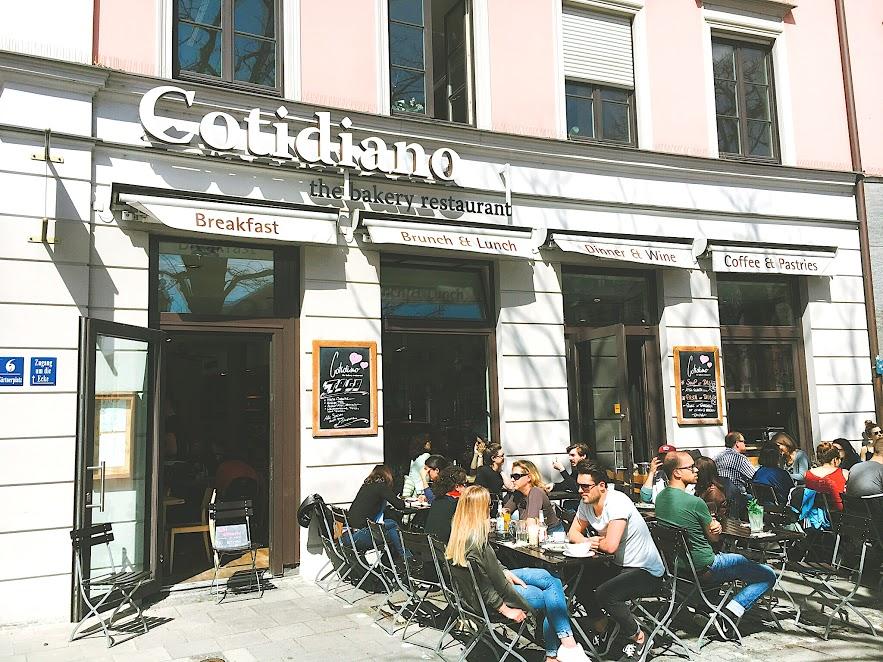 ミュンヘンのおしゃれカフェ