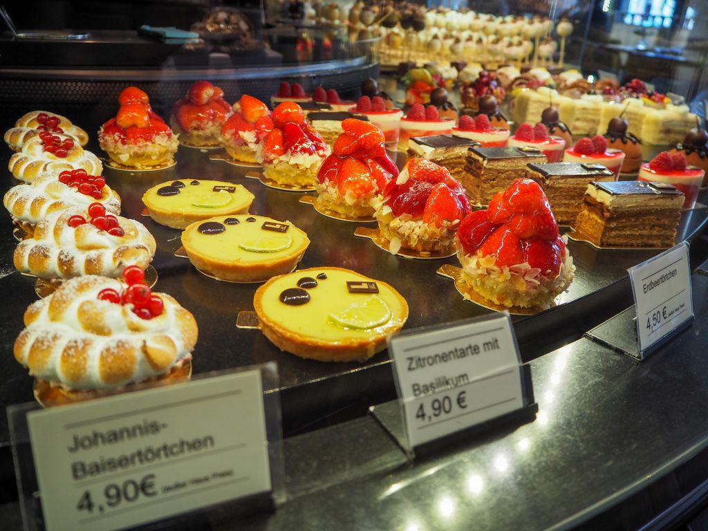 Cafe Luitpoldのケーキ