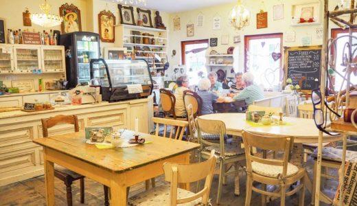 ローテンブルクのおしゃれなヨーロピアンカフェ