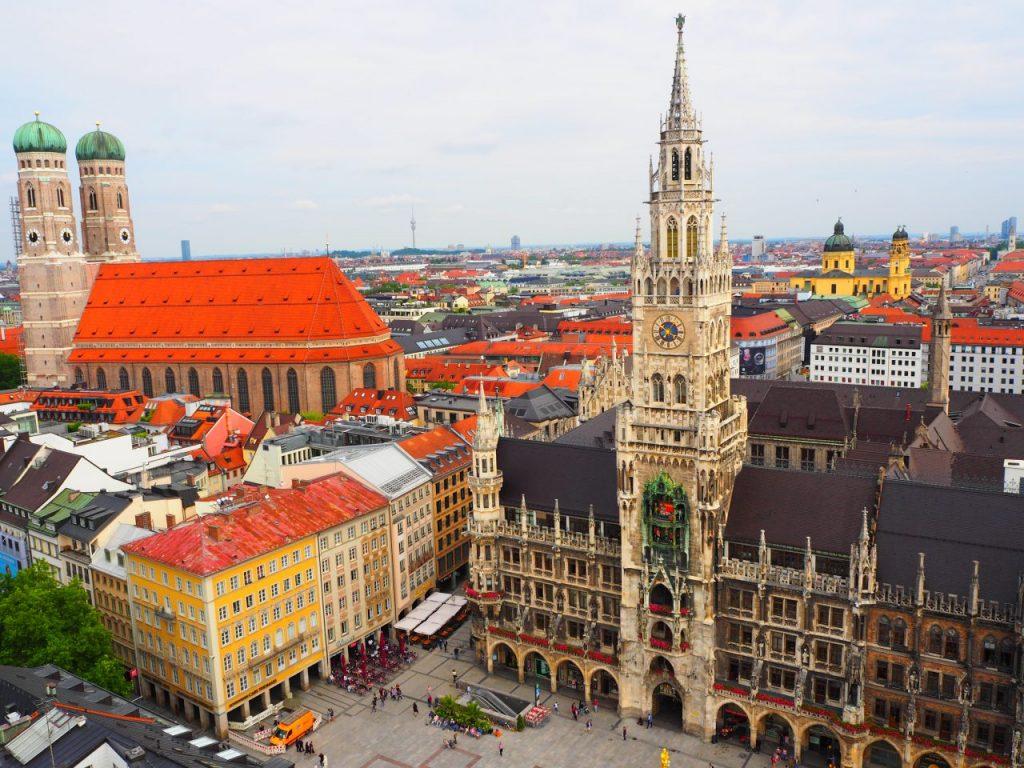 聖ペーター教会の塔でミュンヘンらしい景色を見よう