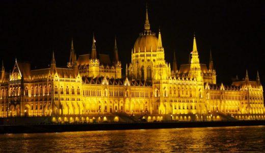 きらめくブダペストの夜景