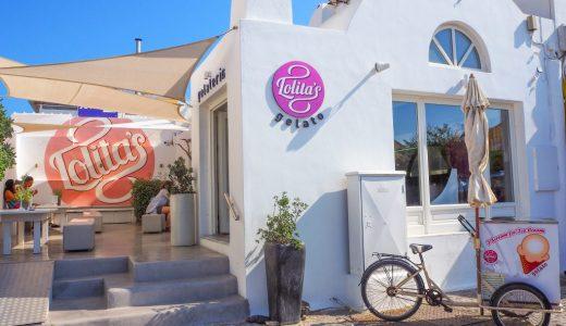 サントリーニ島のおいしいジェラート店