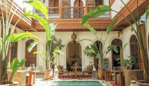 マラケシュでモロッコ伝統のリヤドに宿泊
