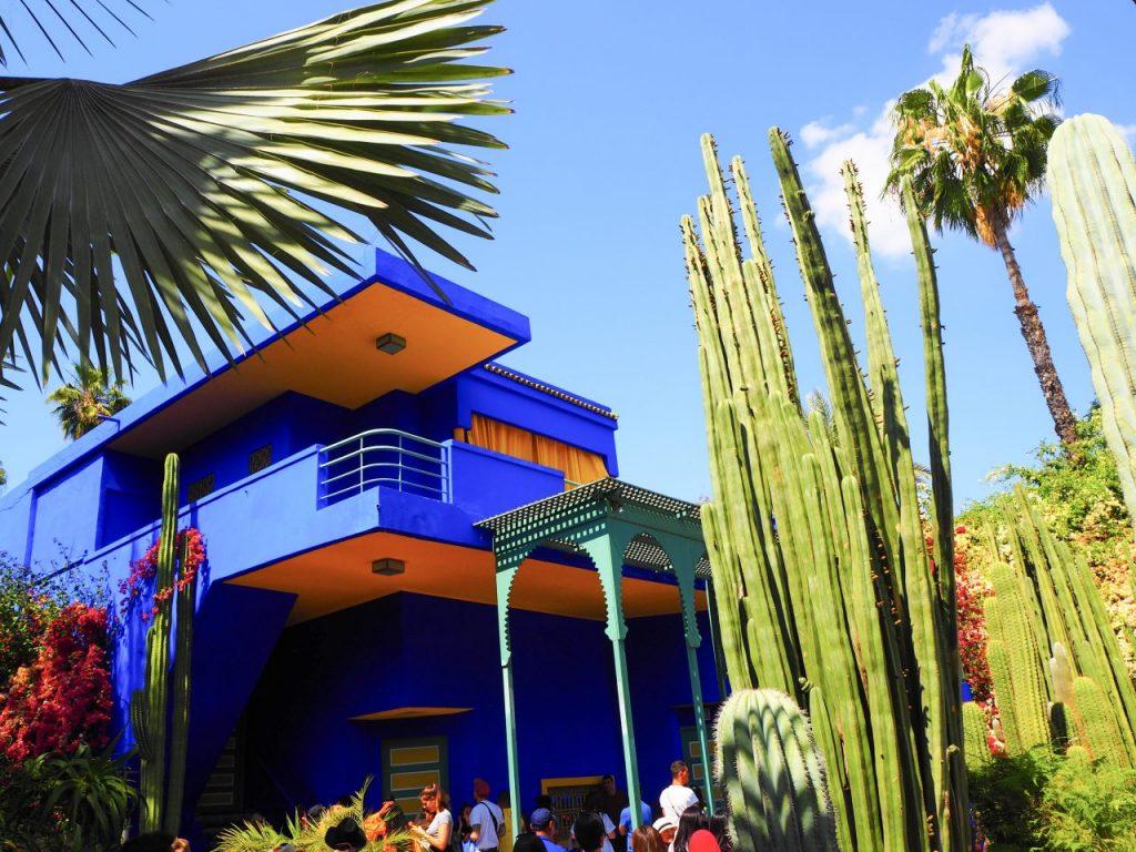 イヴ・サンローランが愛したマラケシュのマジョレル庭園