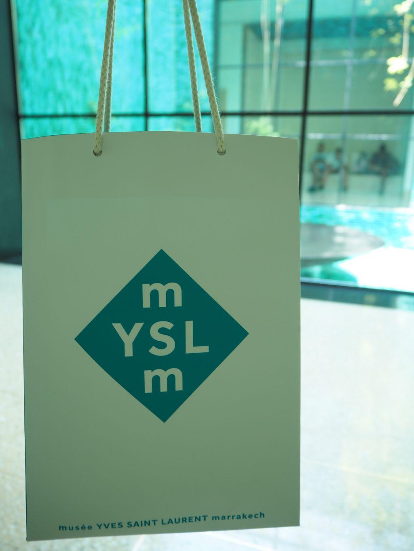 マラケシュのイヴ・サンローランミュージアム
