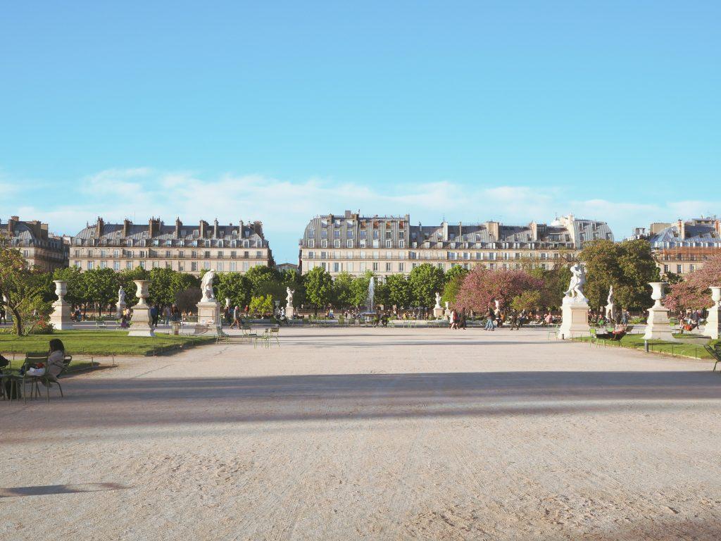 パリのチュイリー公園