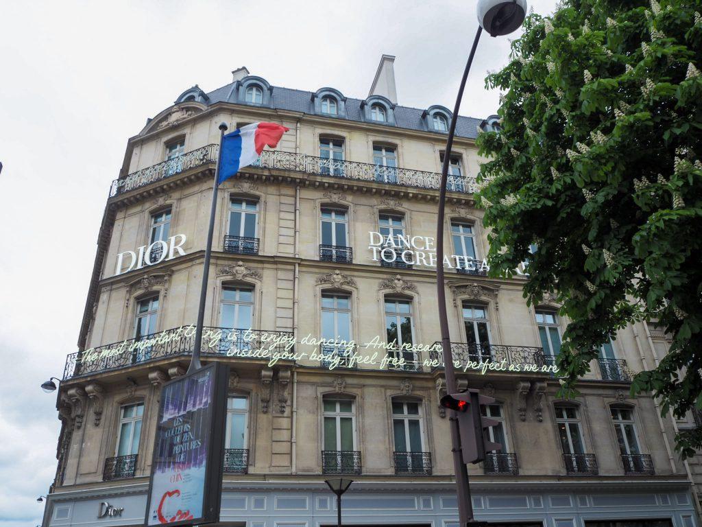 Diorパリ本店
