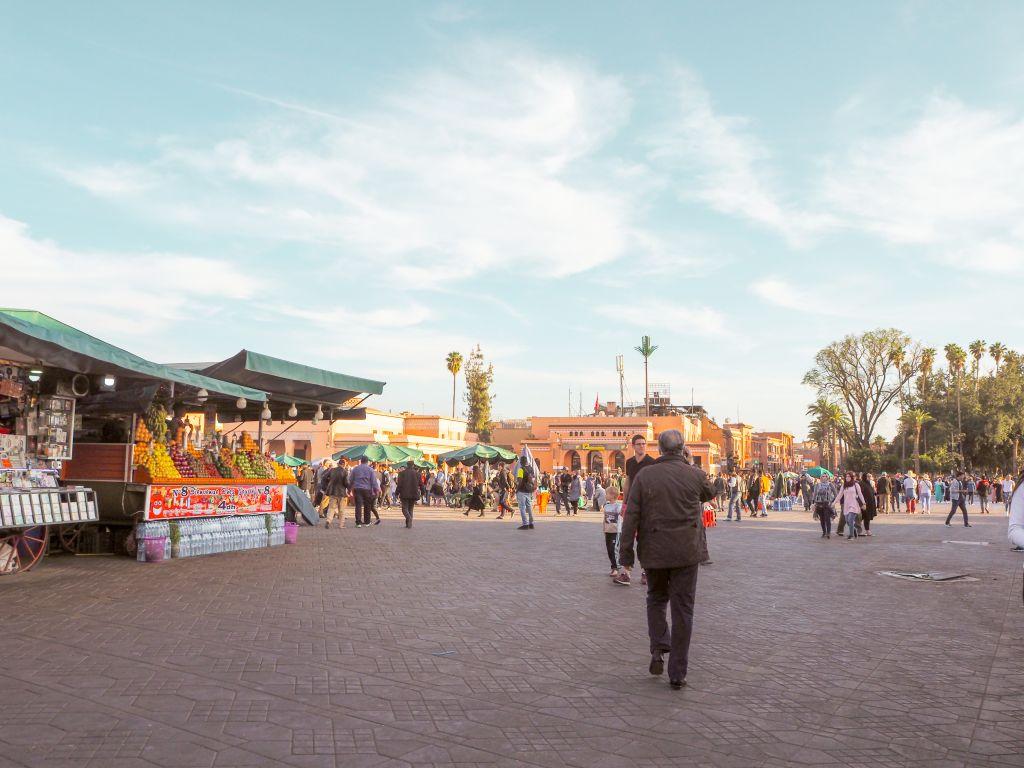ジャマエルフナ市場