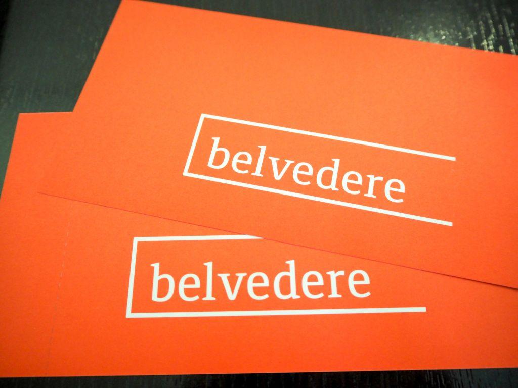 ベルヴェデーレ宮殿のチケット