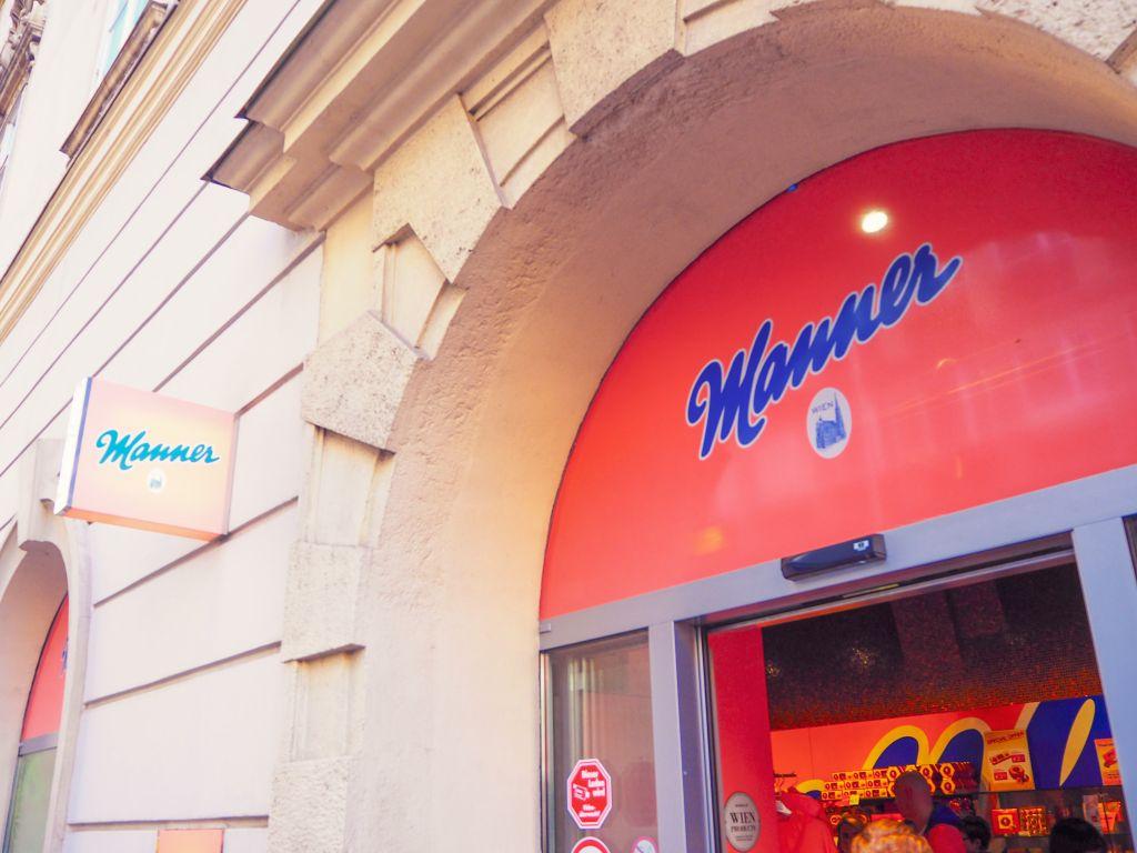 ウィーンのManner