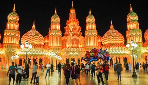 ドバイで冬季開催の万博遊園地「Global Village」