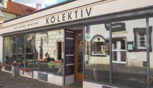 チェスキークルムロフ「KOLEKTIV」のケーキ