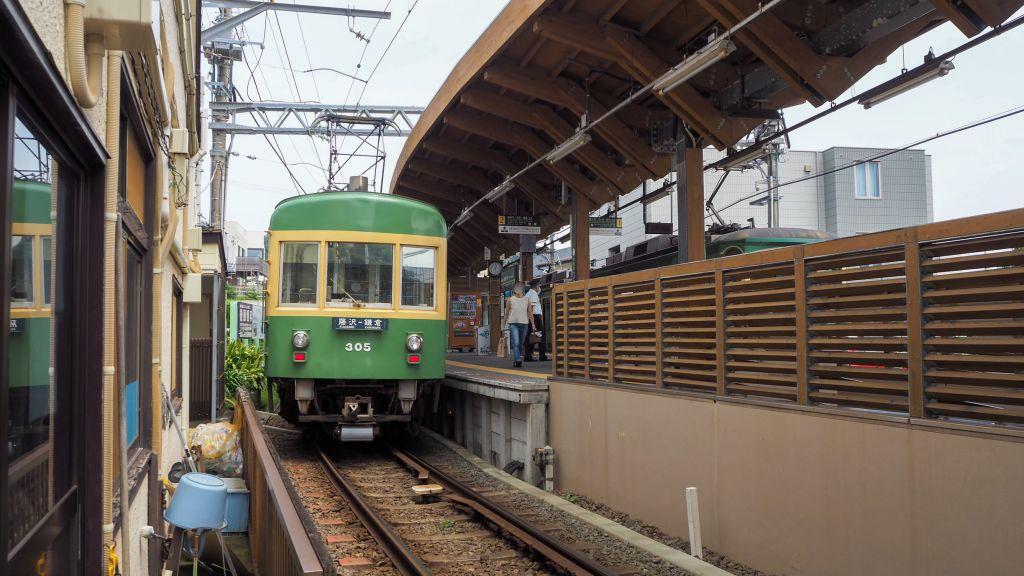 江ノ電の電車