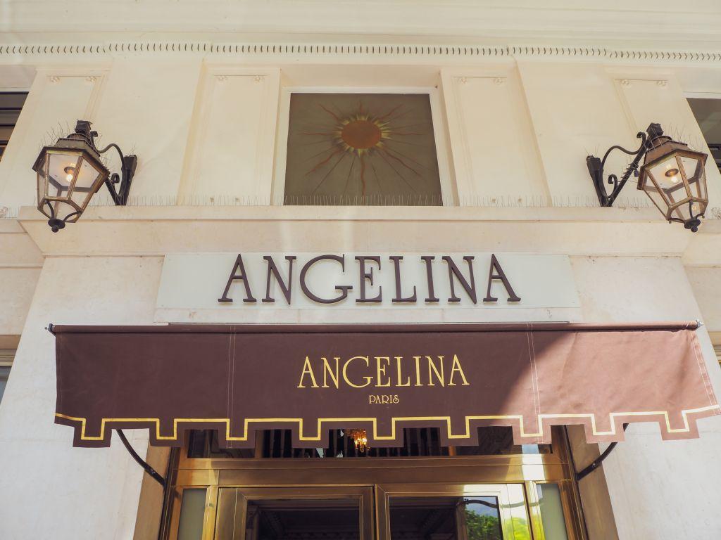 パリ名店アンジェリーナ